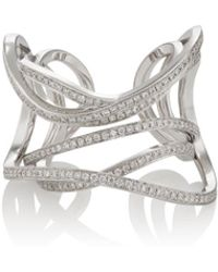 Dauphin - Serpentine Cuff Ring - Lyst