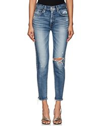 Moussy - Lindsay High-rise Skinny Jeans - Lyst