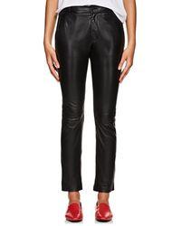 Nili Lotan - East Hampton Leather Slim Trousers - Lyst