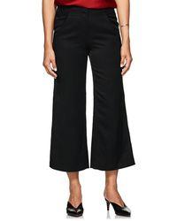 Zero + Maria Cornejo - Tin Tech-twill Wide-leg Pants - Lyst