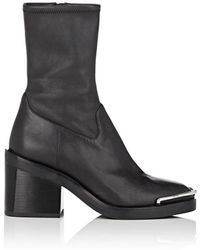 Alexander Wang - Hailey Leather Ankle Boots - Lyst