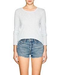 ATM - Slub Cotton Long-sleeve T-shirt - Lyst