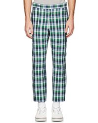 Thom Browne - Checked Cotton - Lyst