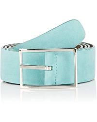 Simonnot Godard | Reversible Leather Belt | Lyst