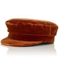77a9dd96459c9 Manokhi X Toukitsou Greek Fisherman Hat in Black - Lyst
