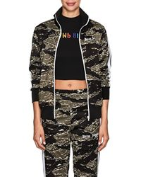 Palm Angels - Camouflage Track Jacket Size Xs - Lyst