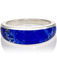 Pamela Love Inlay Cocktail Ring - Blue