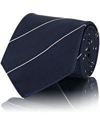 Ralph Lauren Purple Label - Striped Silk Necktie - Lyst