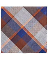 Simonnot Godard - Plaid Cotton Handkerchief - Lyst