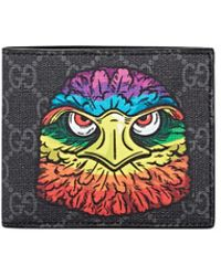 Gucci - Coated Canvas Billfold - Lyst