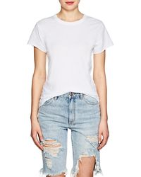 Icons - Braided-back Cotton T - Lyst