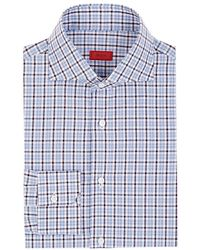 Isaia - Checked Cotton Dress Shirt - Lyst