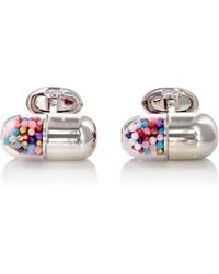 Jan Leslie - Pill-capsule Cufflinks - Lyst