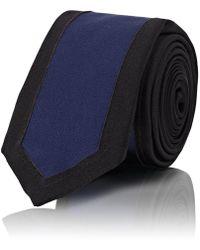 Maison Margiela Silk Satin Skinny Necktie