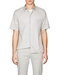 Theory | Bruner Squared-dot-print Stretch | Lyst