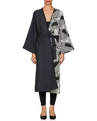 Zero + Maria Cornejo - Oki Jacquard Robe Coat - Lyst