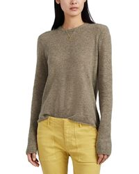 ATM Cashmere Crewneck Sweater - Green