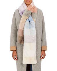 Lilly E Violetta - Colorblocked Mink Pull - Lyst
