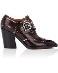 Derek Lam - Sidra Leather Ankle Booties - Lyst