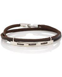 Zadeh - Carlton Wrap Bracelet - Lyst