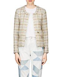 Étoile Isabel Marant - Lyra Checked Wool Jacket - Lyst