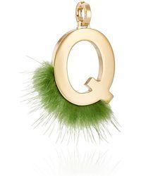 Fendi - Abclick Q Bag Charm - Lyst