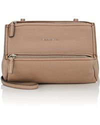 Givenchy - Pandora Mini Leather Messenger Bag - Lyst