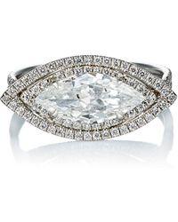 Monique Pean Atelier - Diamond Ring - Lyst