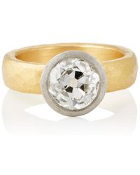 Malcolm Betts - White Diamond Ring - Lyst