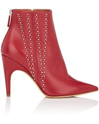 Derek Lam - Isla Studded Leather Ankle Boots - Lyst