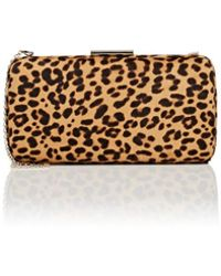 Gianvito Rossi Calf Hair Clutch - Multicolour