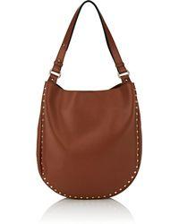 Barneys New York - Studded Hobo Bag - Lyst