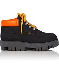 Acne Studios - Tinnie Nubuck Ankle Boots - Lyst