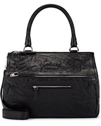 Givenchy - Pandora Pepe Medium Leather Messenger Bag - Lyst