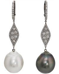 Samira 13   Pearl-tipped White-diamond   Lyst