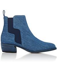 Pierre Hardy - Gipsy Denim Chelsea Boots - Lyst
