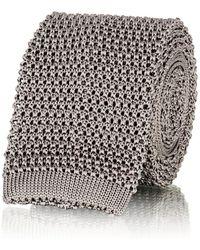 Ralph Lauren Purple Label - Silk Knit Necktie - Lyst
