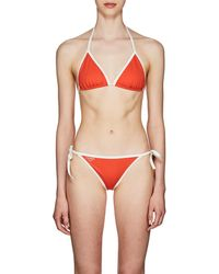 Fendi - Triangle String Bikini - Lyst