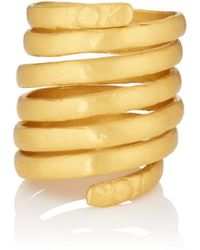 Eli Halili Seven Blessings Spiral Ring Size 6.75 - Yellow