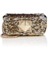 Sonia Rykiel - Le Copain Small Sequined Chain Shoulder Bag - Lyst