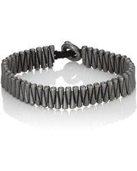 M. Cohen - Sterling Silver Cone Bracelet - Lyst