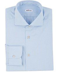 Kiton - Gingham Shirt - Lyst