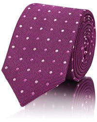 Barneys New York | Dotted Silk Necktie | Lyst