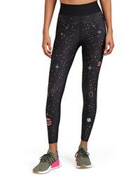Ultracor Galaxy Crystal-embellished Leggings - Black