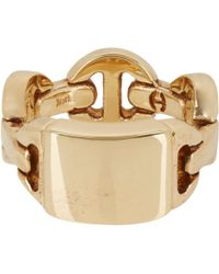 Hoorsenbuhs - Monogram Dame Ring Size 6 - Lyst