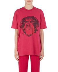 Givenchy - Rottweiler Cotton T - Lyst