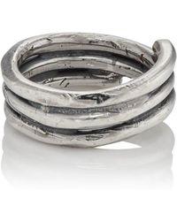 Emanuele Bicocchi - Sterling Silver Wrap Ring - Lyst