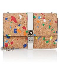 Proenza Schouler Ps11 Cork Chain Wallet - Multicolour