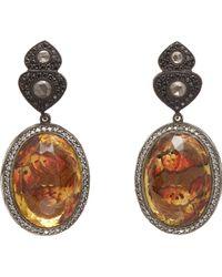 Sevan Biçakci - Butterfly Intaglio Drop Earrings - Lyst
