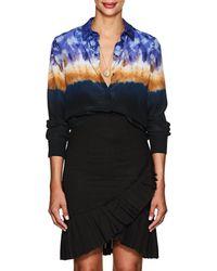 Altuzarra - Chika Tie-dyed Silk Blouse - Lyst
